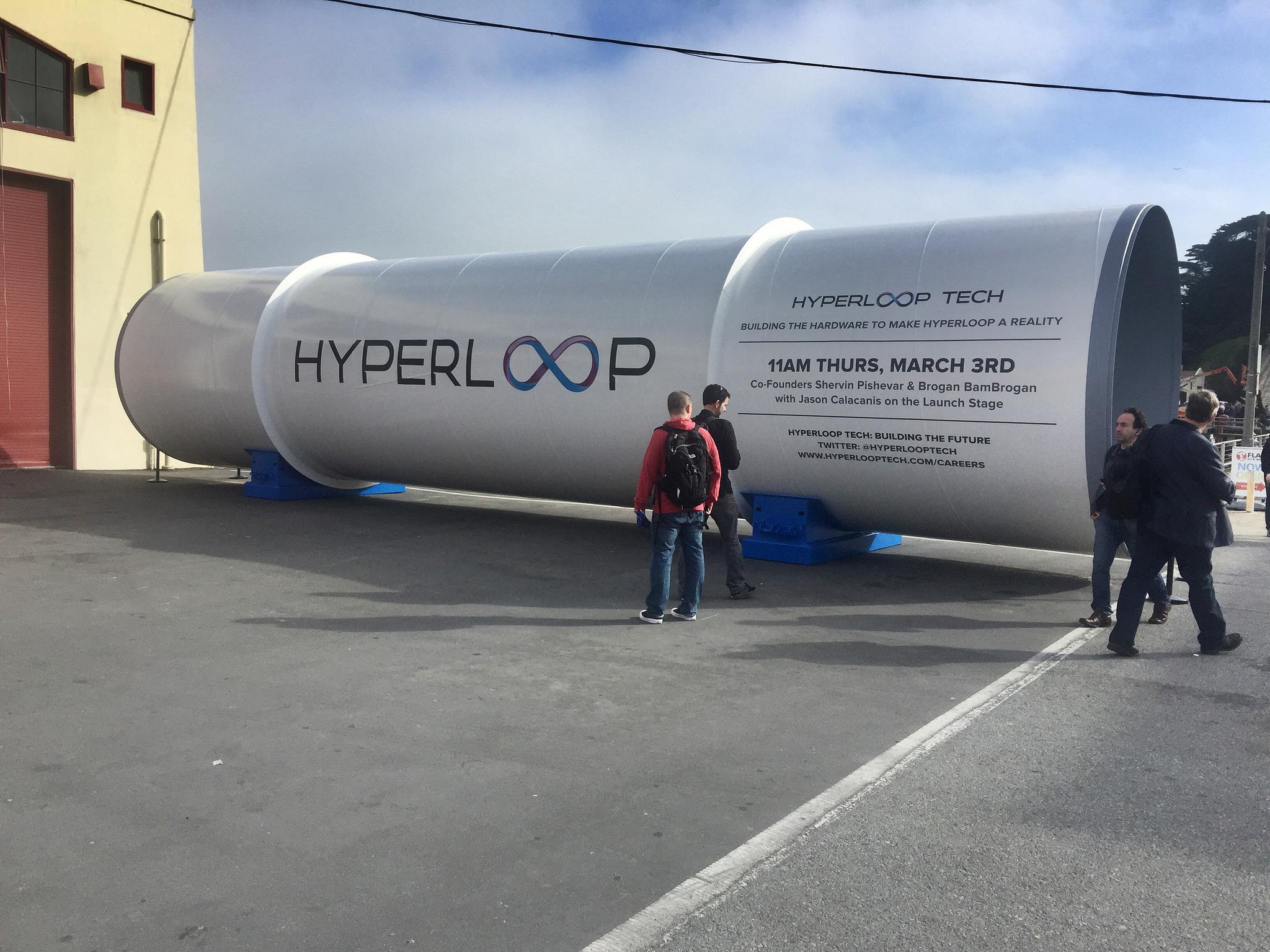 Россия увеличила инвестиции в американскую Hyperloop