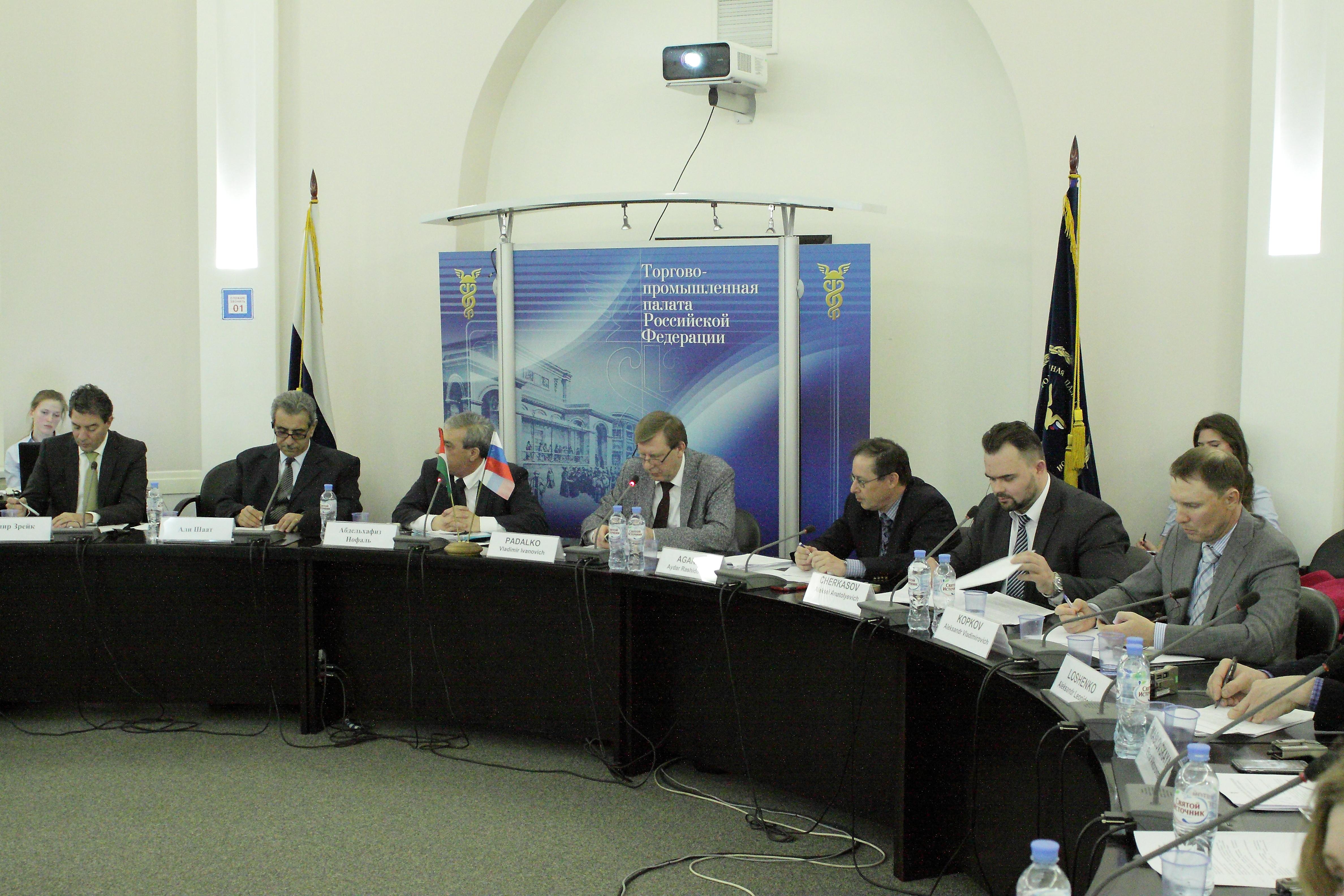 В ТПП РФ представители палестинских и российских деловых кругов наметили пути сотрудничества