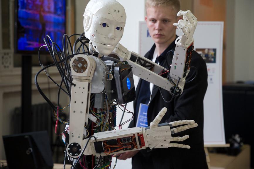 Россия на пороге роботизации
