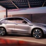 Mercedes показал свой первый электромобиль