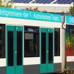 В Германии запустили беспилотный трамвай
