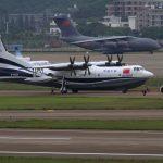 Крупнейший самолет-амфибия прошел испытания на воде
