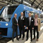 В Германии запустили поезд на водороде