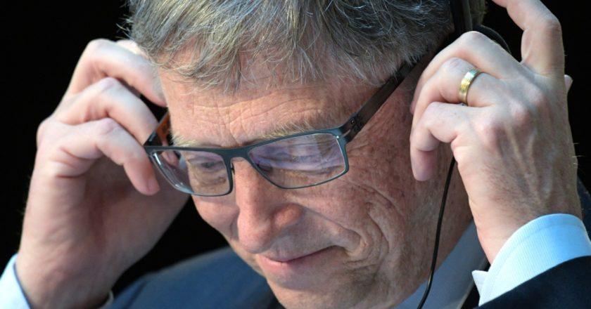 Бывший генеральный директор Microsoft Билл Гейтс. Григорий Сысоев / РИА Новости
