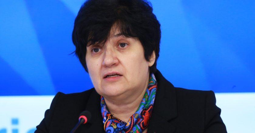 Представитель ВОЗ в РФ Мелита Вуйнович. Александр Натрускин / РИА Новости