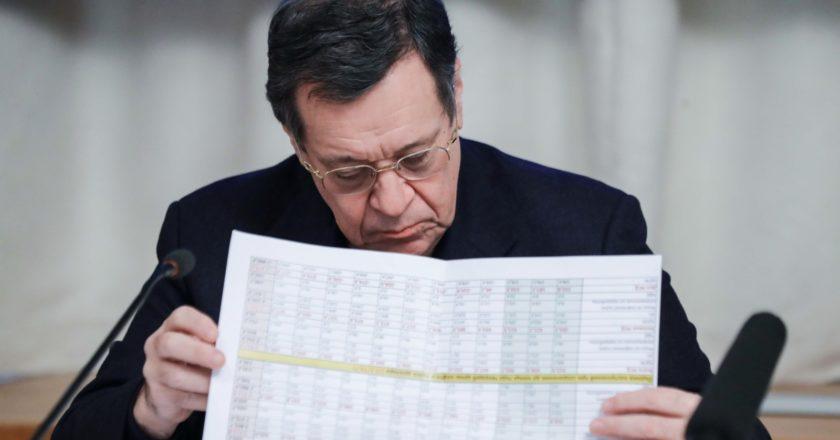 Председатель комитета Государственной Думы РФ по бюджету и налогам Андрей Макаров. Пресс-служба Государственной Думы РФ