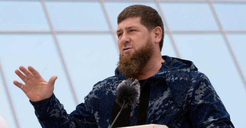 Глава Чеченской Республики Рамзан Кадыров выступает. Саид Царнаев / РИА Новости