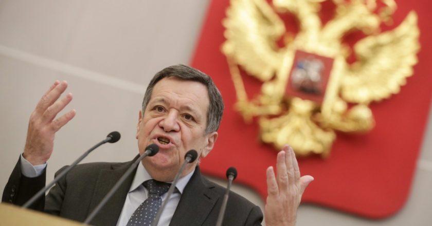 Председатель комитета Госдумы РФ по бюджету и налогам Андрей Макаров. Пресс-служба Государственной Думы РФ