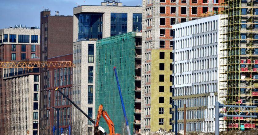 Строительство новых домов в Москве. Алексей Майшев / РИА Новости
