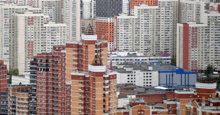 Многоэтажные жилые дома в Московской области. Павел Бедняков / РИА Новости