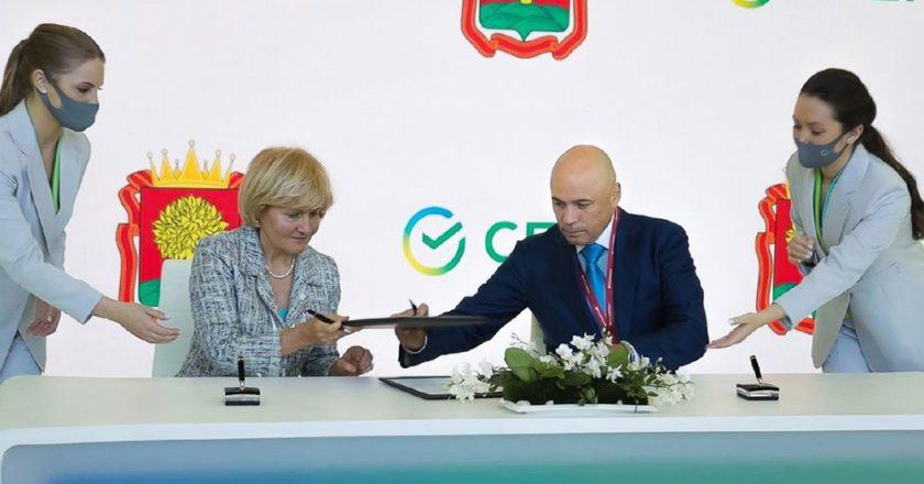«Сбер» заключил соглашение с администрацией Липецкой области по развитию цифрового здравоохранения. Официальный портал администрации Липецкой области