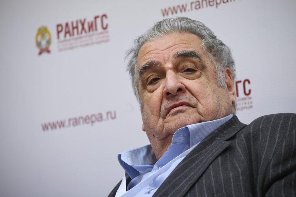 Академик РАН Абел Аганбегян. Илья Питалев / РИА Новости