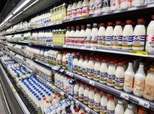 Молочный отдел супермаркета. Владимир Песня / РИА Новости