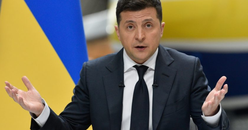 Президент Украины Владимир Зеленский. Стрингер / РИА Новости