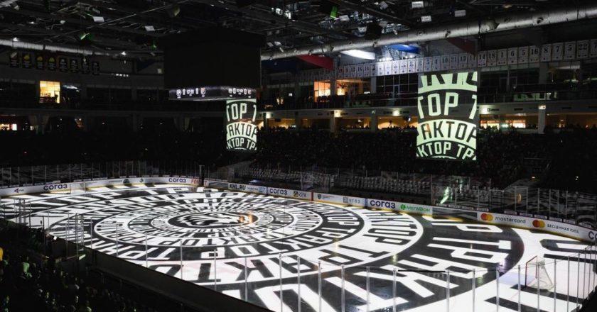 Шоу на ледовой арене «Трактор» (Челябинск)
