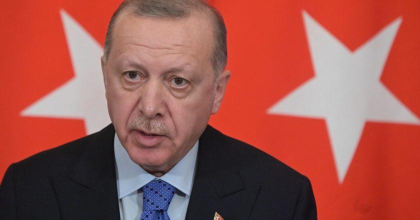 Президент Турции Реджеп Тайип Эрдоган. Сергей Гунеев / РИА Новости
