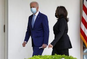 Президент США Джо Байден и вице-президент США Камала Харрис. Стрингер / РИА Новости