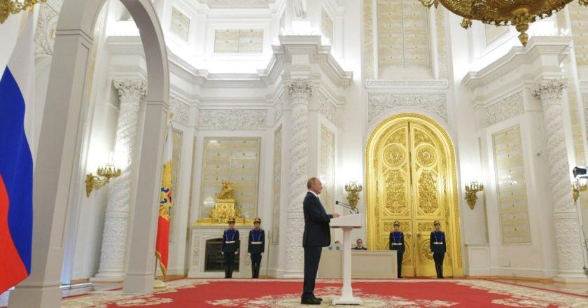 Президент РФ Владимир Путин в Кремле. Алексей Дружинин / POOL