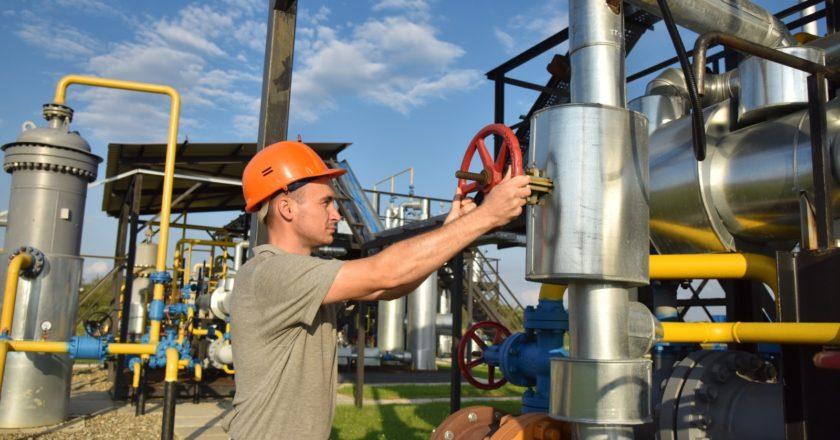 Комплекс подготовки экспортного газа на Украине. Стрингер / РИА Новости