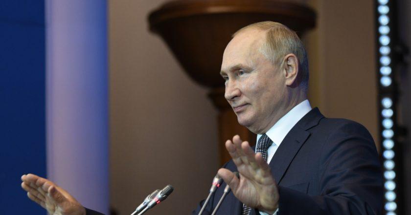 Президент РФ Владимир Путин. Алексей Даничев / РИА Новости