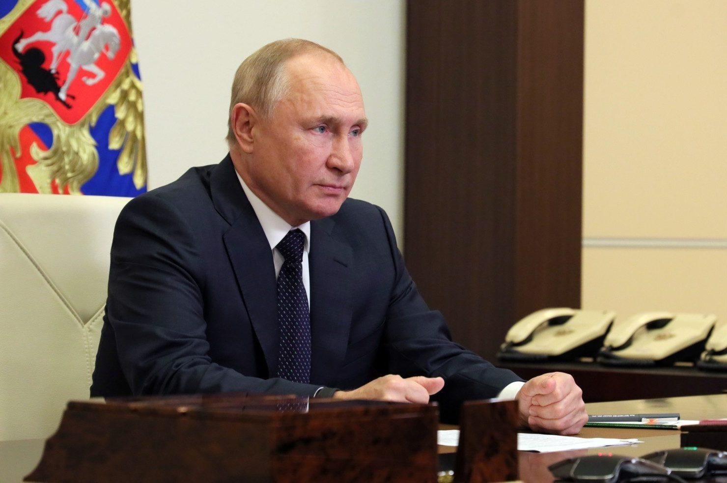 Президент РФ Владимир Путин. Евгений Паулин / РИА Новости